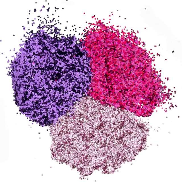 Brokaty Slime - Różowa słodycz mix kolorów i kształtów Tuban 3x5g