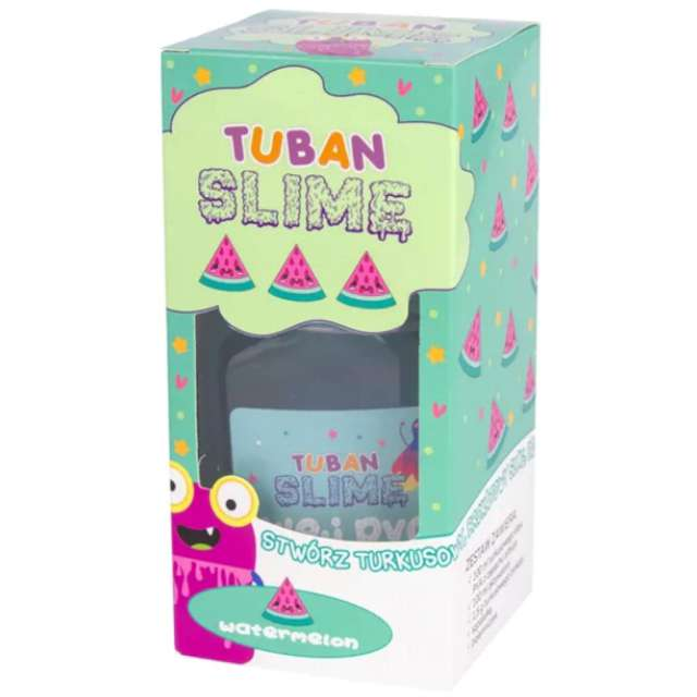 "Zestaw ""Super Slime Arbuz"", Tuban"