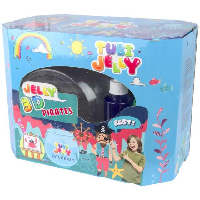 """Zestaw """"Tubi Jelly - Piraci, 8 kolorów, akwarium"""",Tuban"""