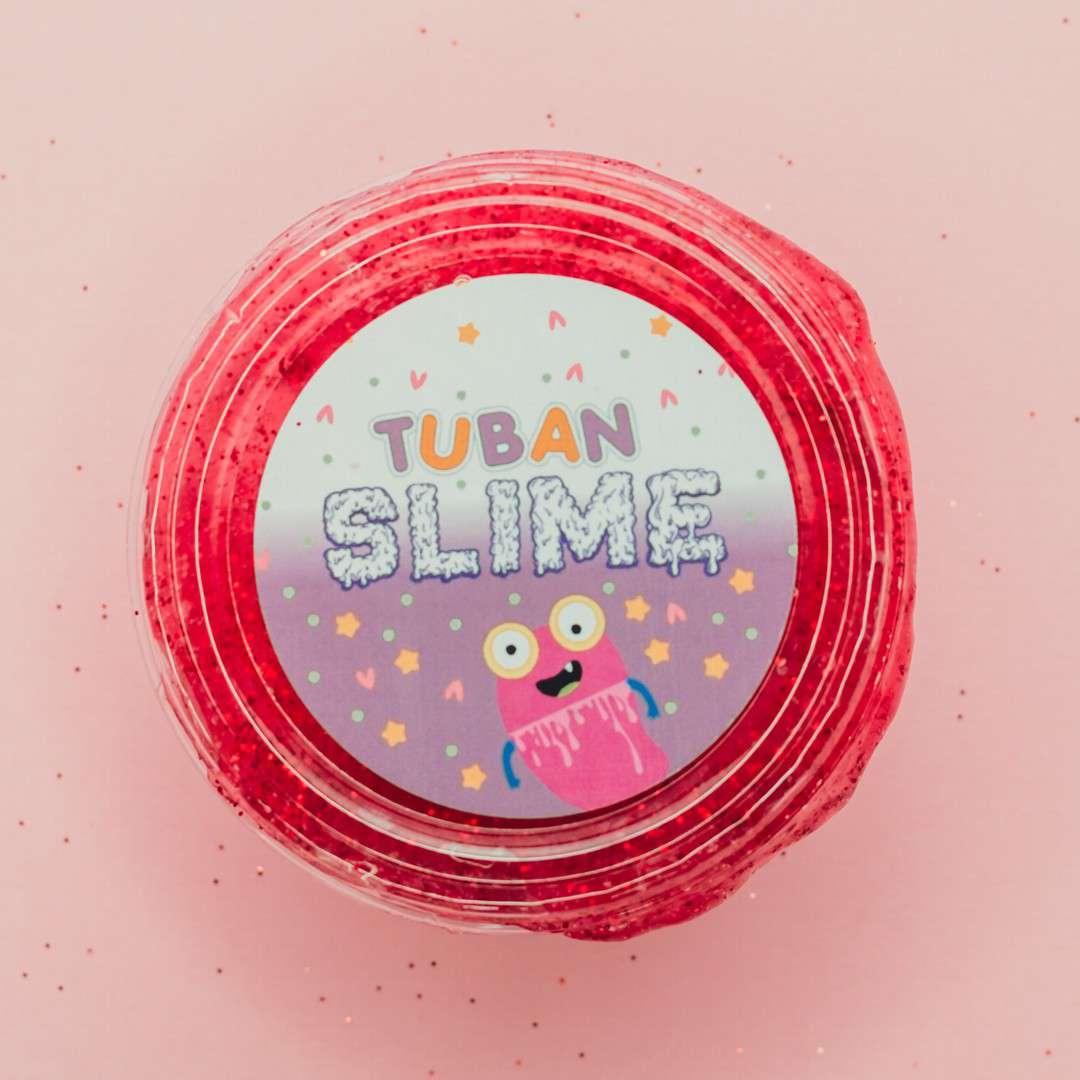 Zestaw Super Slime XL Truskawka Tuban