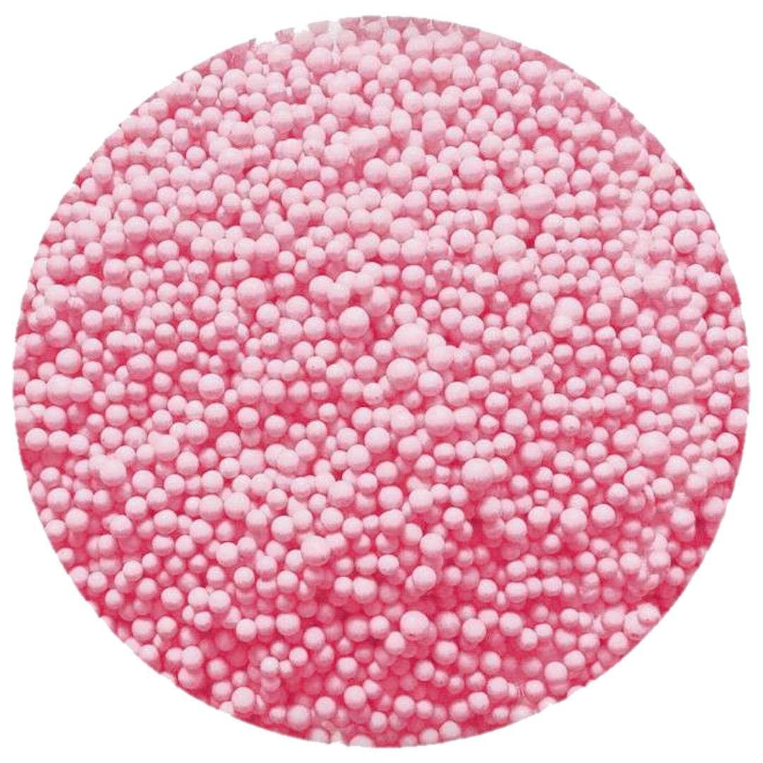 """Styropian """"Kuleczki"""", różowy, Tuban, 200 ml"""