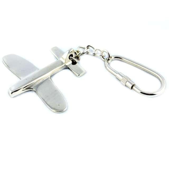 Brelok Samolot metalowy Kemiś