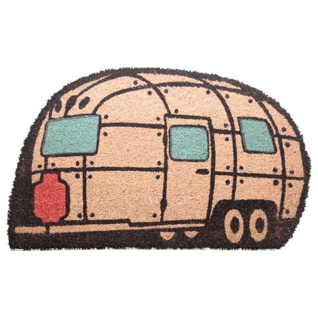 Wycieraczka Przyczepa kempingowa włókno kokosowe Puckator 75 x 46 cm