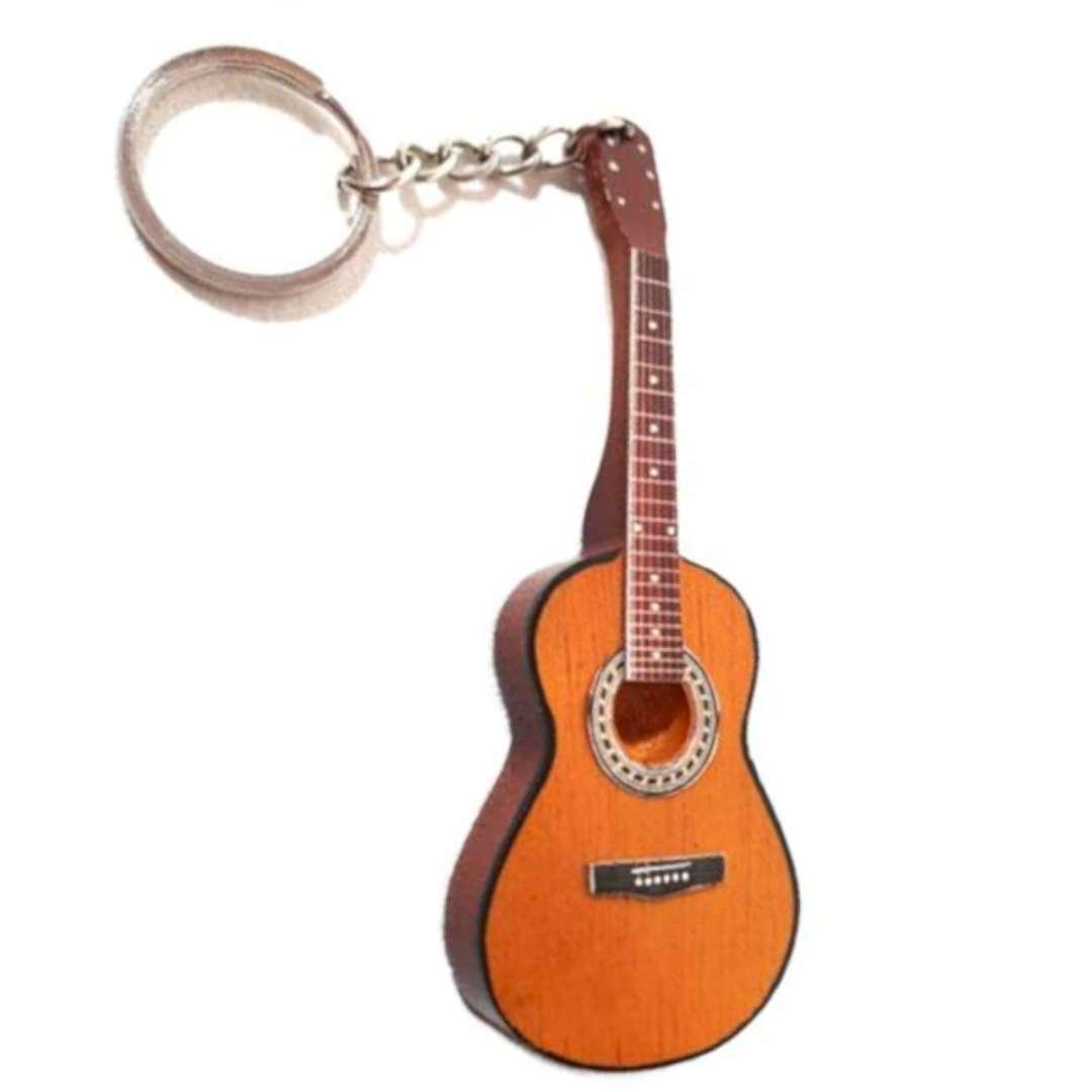 """Brelok """"Gitara klasyczna"""", brązowa,  Kemiś"""