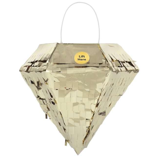 """Piniata mini """"Błyszczący diament"""", Unique, 17 x 15 cm"""