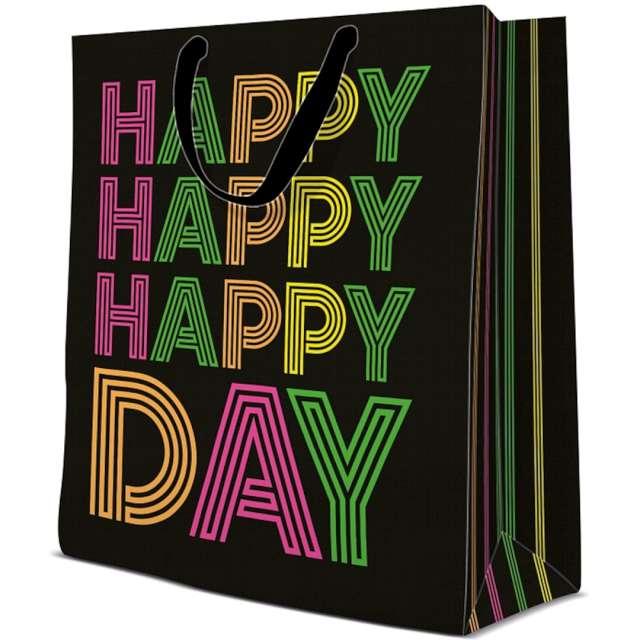 """Torebka prezentowa """"Happy Day"""", PAW, 30x41 cm"""