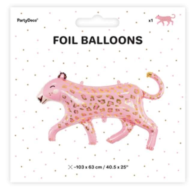 _xx_Balon foliowy Lampart 103x63cm mix