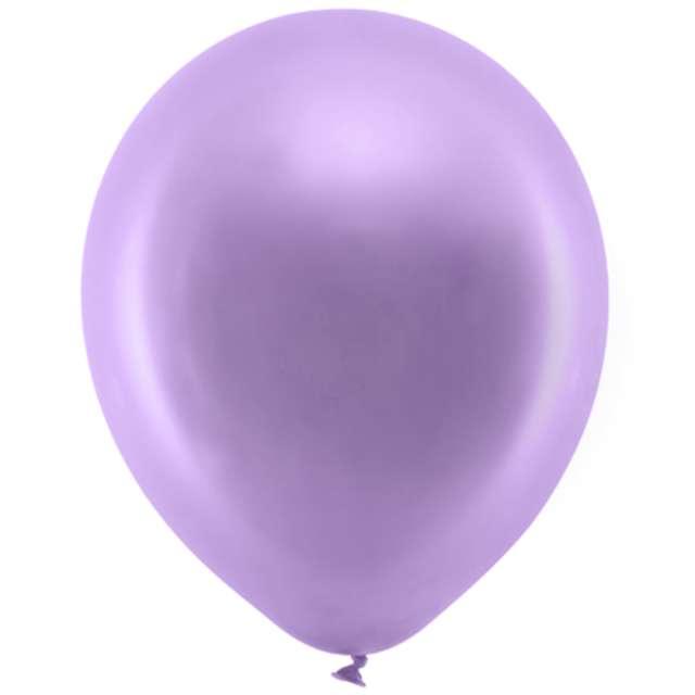 Balony Rainbow - Metalizowane fioletowe PartyDeco 9 100 szt