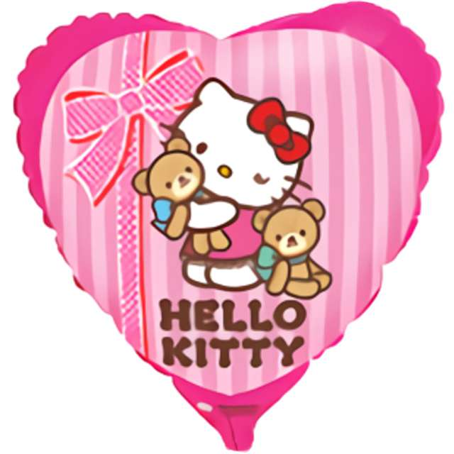 _YY_xx_Balon foliowy 18 FX - Hello Kitty best friend pakowany