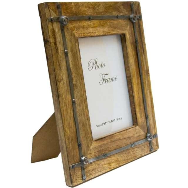 """Ramka na zdjęcia """"Drzewo Mangowe - deski retro"""", Kemiś, 21 x 27 cm"""