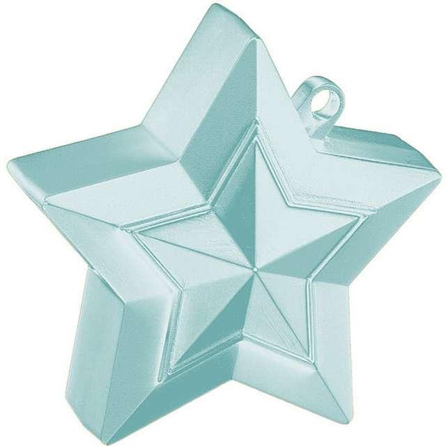 Obciążnik do balonów Gwiazda jasnoniebieska Qualatex 150g