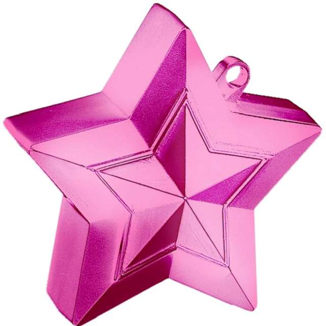 Obciążnik do balonów Gwiazda różowy Qualatex 150g