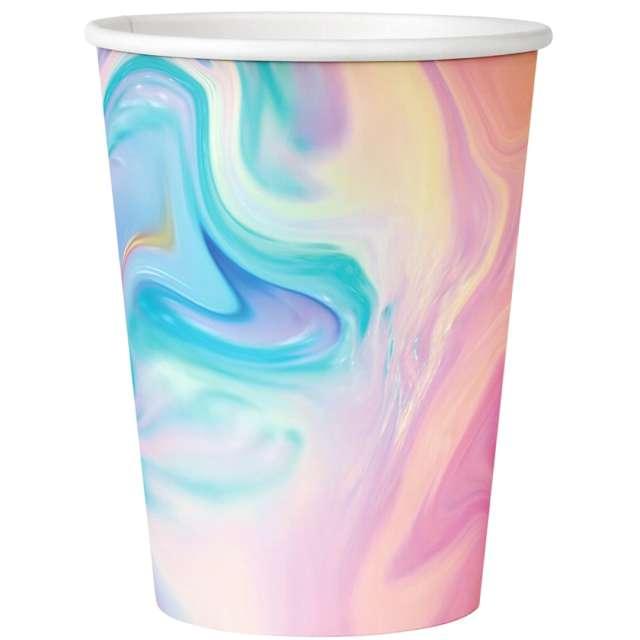 Kubeczki papierowe Pastelowa impresja Godan 270 ml 6 szt