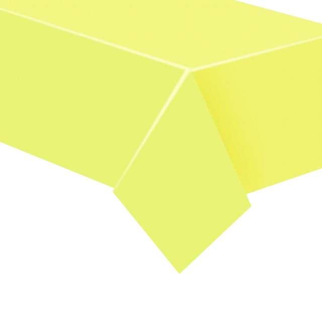 """Obrus papierowy """"Classic"""", żółty jasny, Godan, 183 x 132 cm"""