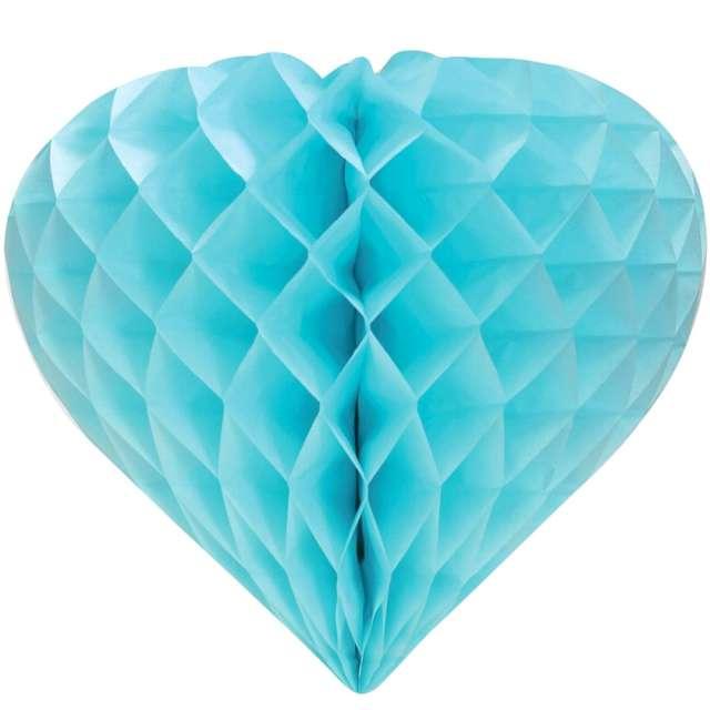 """Rozeta wisząca """"Serce"""", błękitna, Godan"""