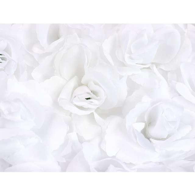 _xx_Serce kwiatowe pełne biały 50cm