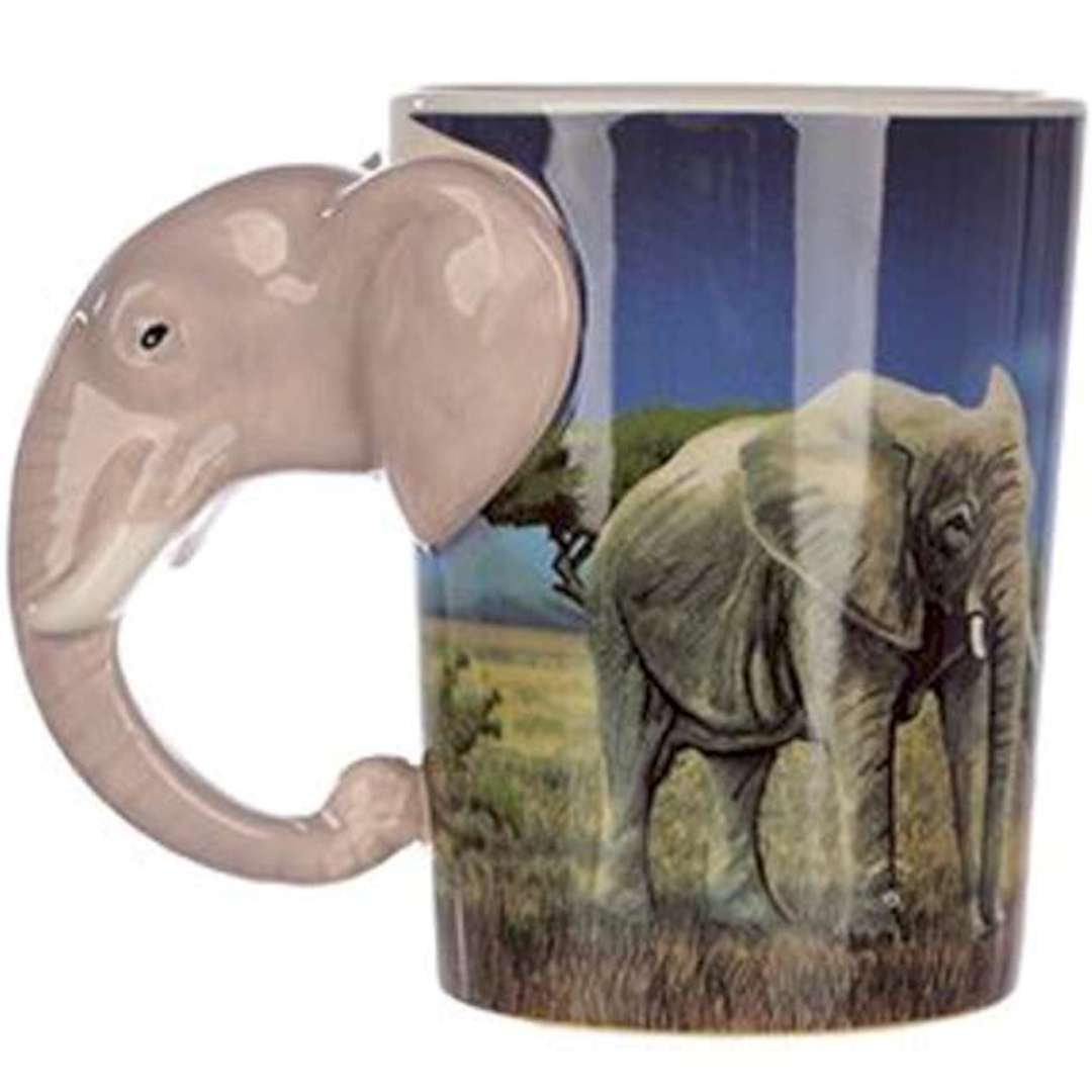 Kubek Safari - Słoń Puckator 500 ml