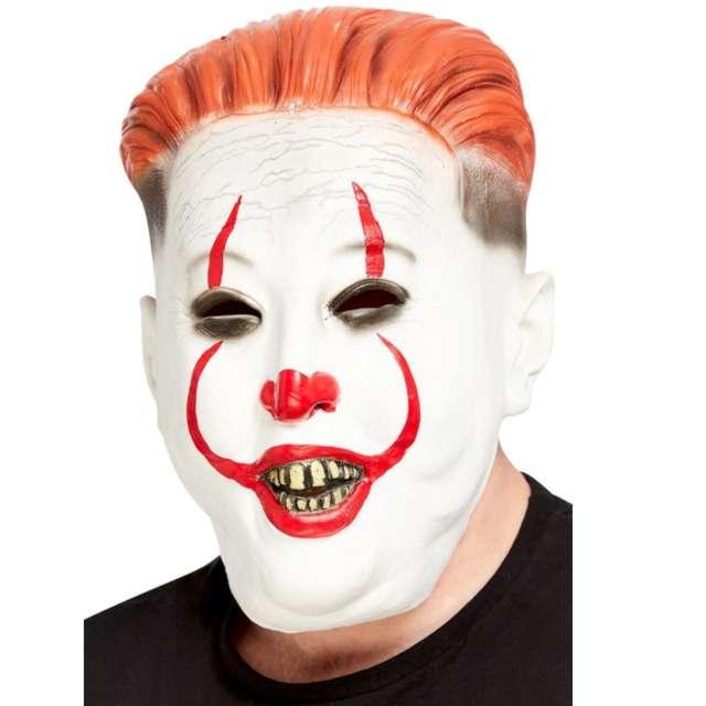 "Maska ""Klaun dyktator"", lateksowa, Smiffys"