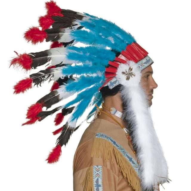 Pióropusz Indiański kolorowy Smiffys