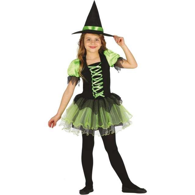 """Strój dla dzieci """"Czarownica z Tutu"""", zielona, Guirca, 10-12 lat"""