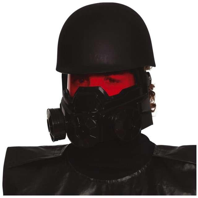 Hełm Żołnierz Apokalipsy czarny Guirca
