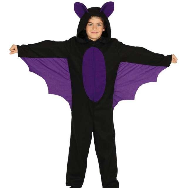 """Strój dla dzieci """"Nietoperz mini batman"""", czarno-fioletowy, Guirca, 7-9 lat"""