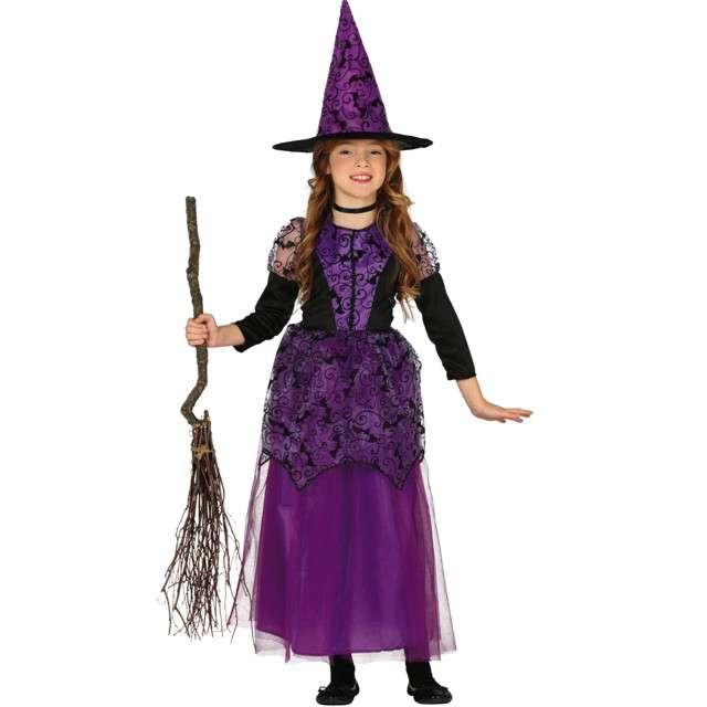 """Strój dla dzieci """"Koronkowa czarownica"""", fioletowa, Guirca, 7-9 lat"""