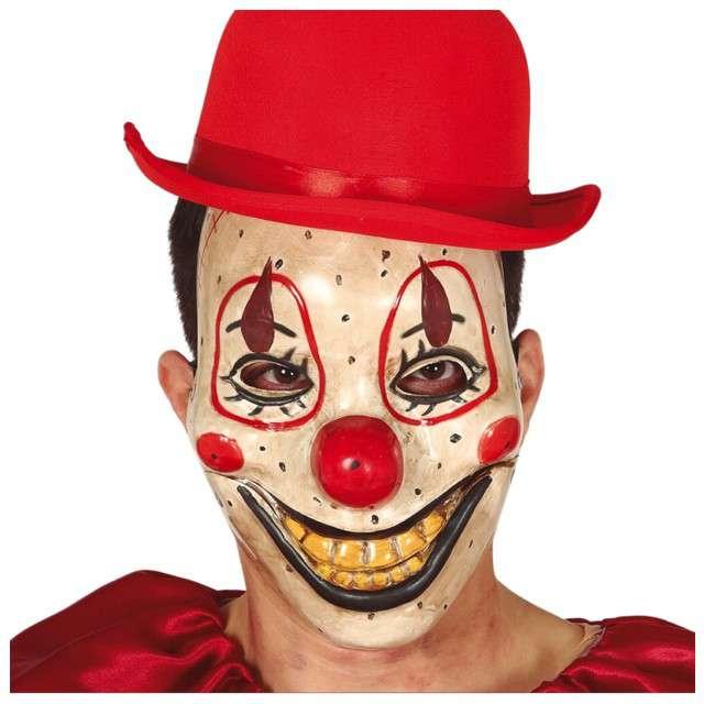 """Maska """"Klaun złośliwy uśmiech, plastikowa, Guirca"""