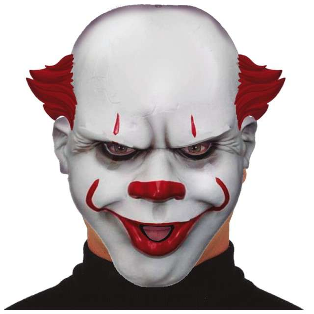 "Maska ""Klaun Psychopata"", plastikowa, Guirca"