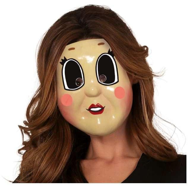 """Maska """"Hipnotyczna Dziewczyna"""", plastikowa, Guirca"""