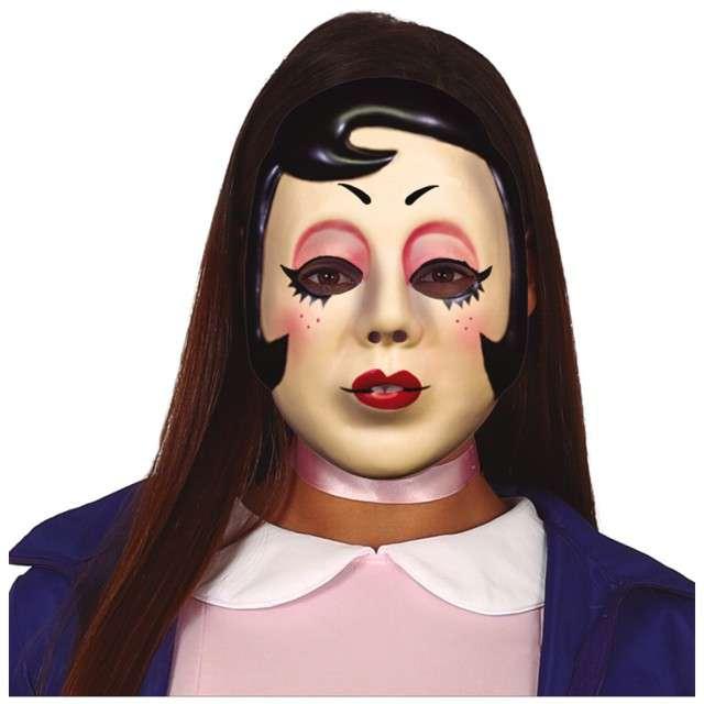 """Maska """"Mroczna dziewczyna PIN UP"""", plastikowa, Guirca"""