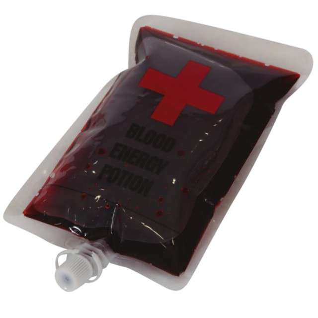 Krew w worku Dawca krwi bordowa Guirca