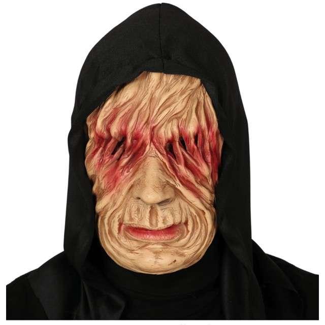 """Maska """"Potwór w kapturze"""", lateksowa, GUIRCA"""