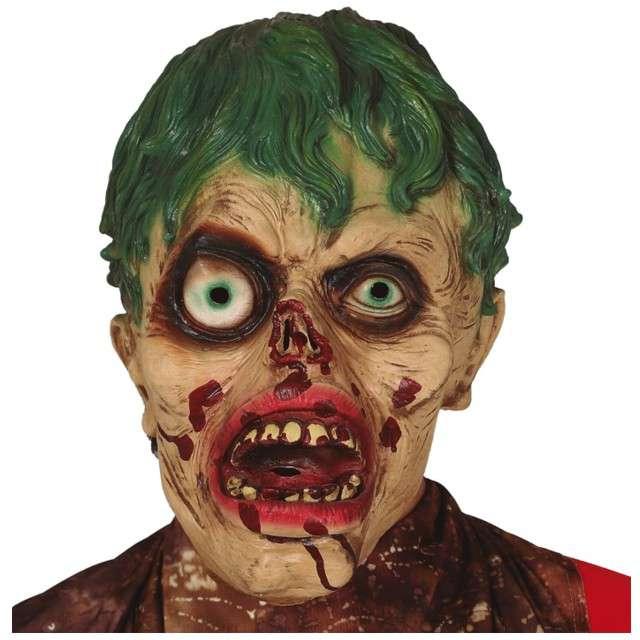 """Maska """"Człowiek Zombie"""", lateksowa, GUIRCA"""