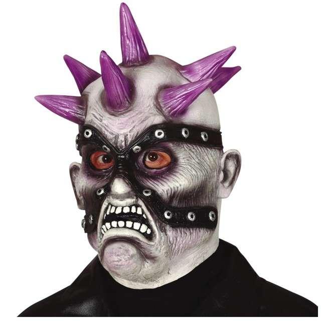 """Maska """"Zombie Punk"""", lateksowa, GUIRCA"""