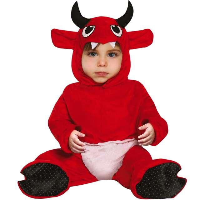 Strój dla dzieci Diabeł z oczami czerwony Guirca 12-18 mies.