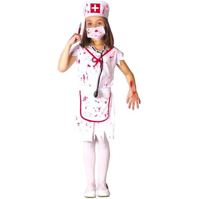 """Strój dla dzieci """"Krwawa pielęgniarka"""", biały, Guirca, 7-9 lat"""