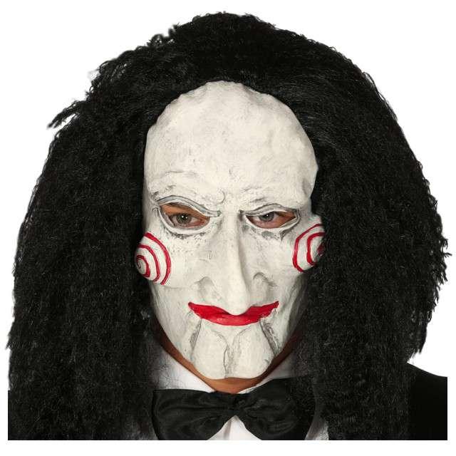 "Maska ""Jigsaw z filmu Piła"", lateksowa, Guirca"
