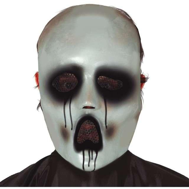 """Maska """"Niemy krzyk grozy"""", biała, Guirca"""