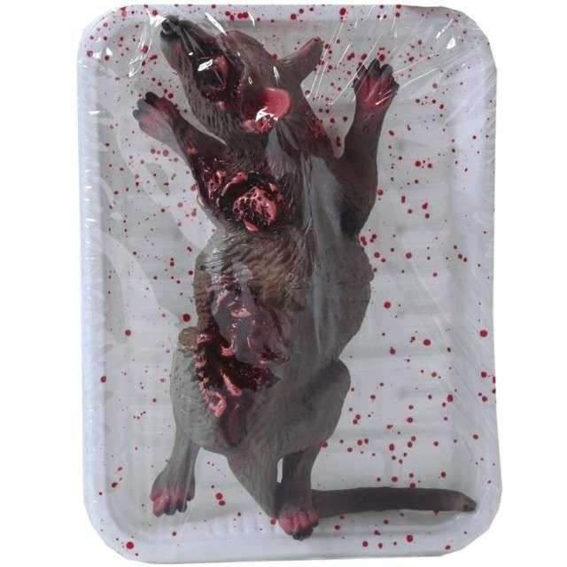"""Dekoracja """"Zdechły szczur"""", Guirca, 19x12 cm"""