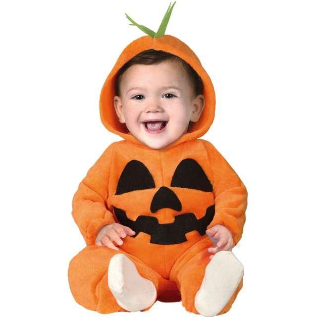 """Strój dla dzieci """"Dynia roześmiana"""", pomarańczowy, Guirca, 12-24 mies."""
