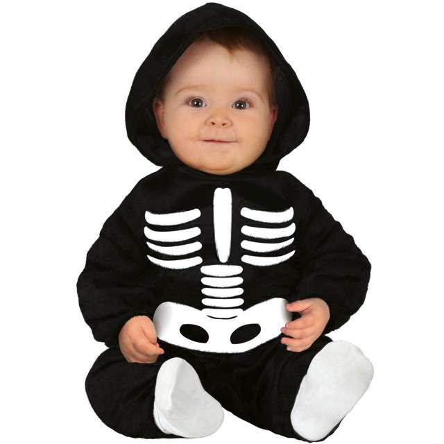 """Strój dla dzieci """"Kościotrup szkielecik"""", czarny, Guirca, 12-18 miesiące"""