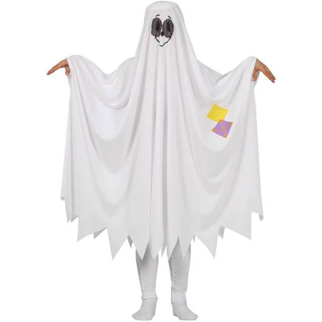 Strój dla dzieci Hallowen duch Biały Guirca 10-12 lat