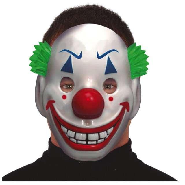 Maska Klaun Joker plastikowa Guirca