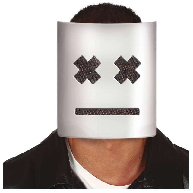 Maska Emoji z krzyżykami Guirca