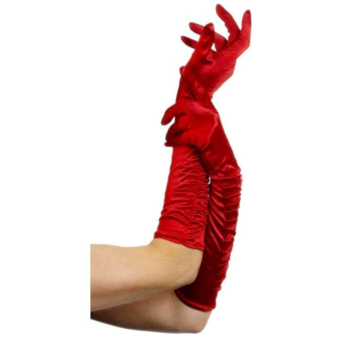 Rękawiczki Temptress czerwone Smiffys