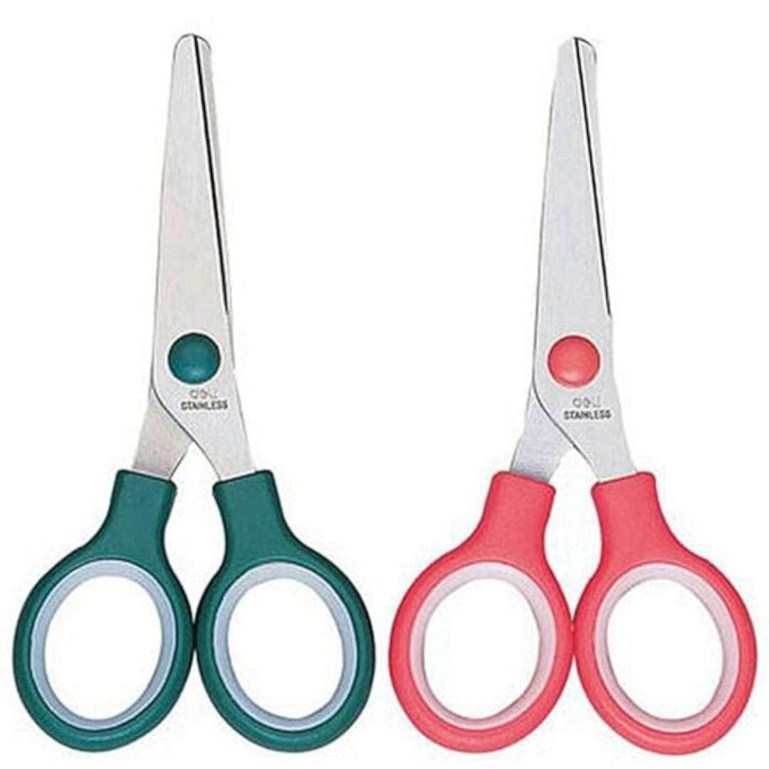 Nożyczki Classic mix kolorów DELI 13 cm