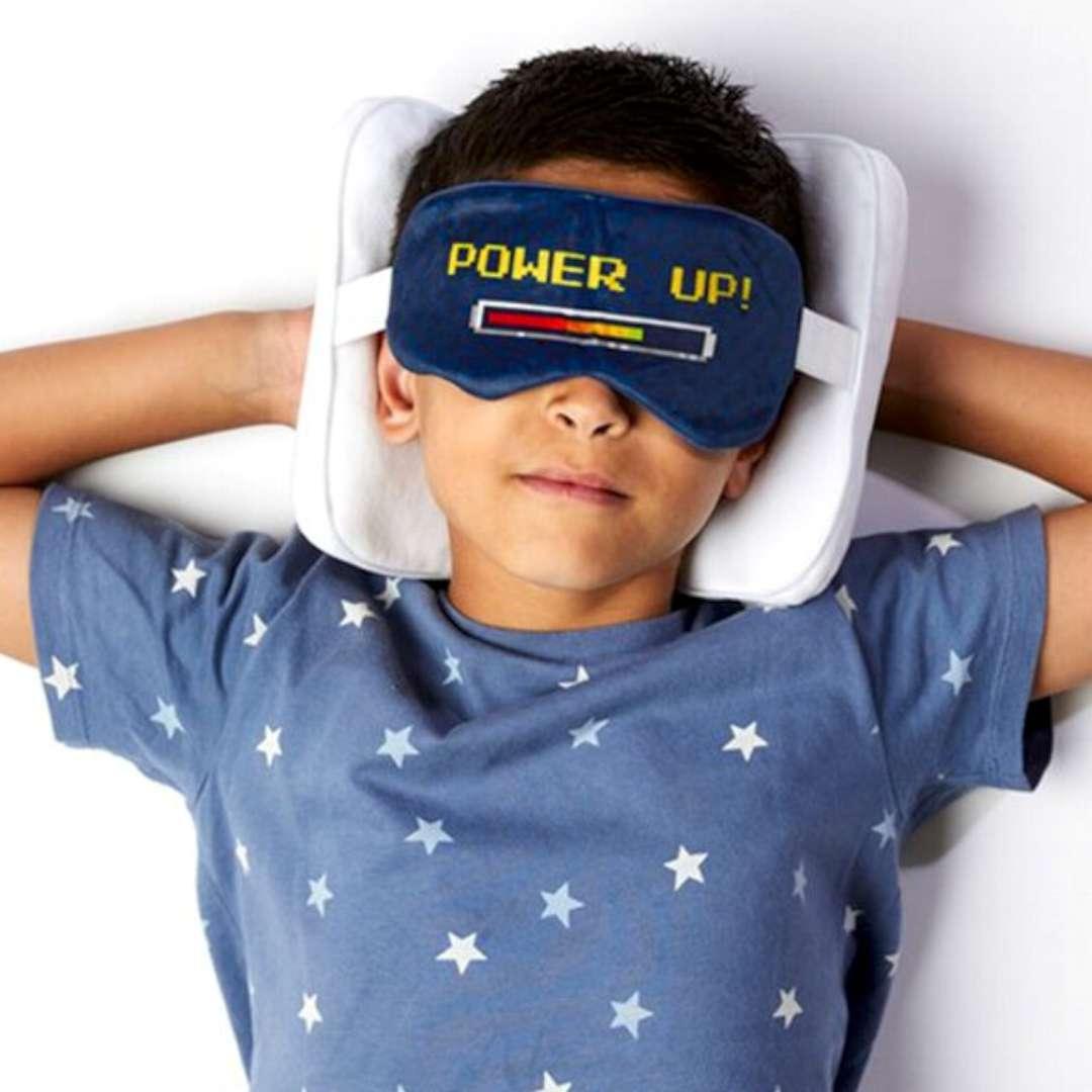 Poduszka podróżna z maską na oczy Game Over Kemiś
