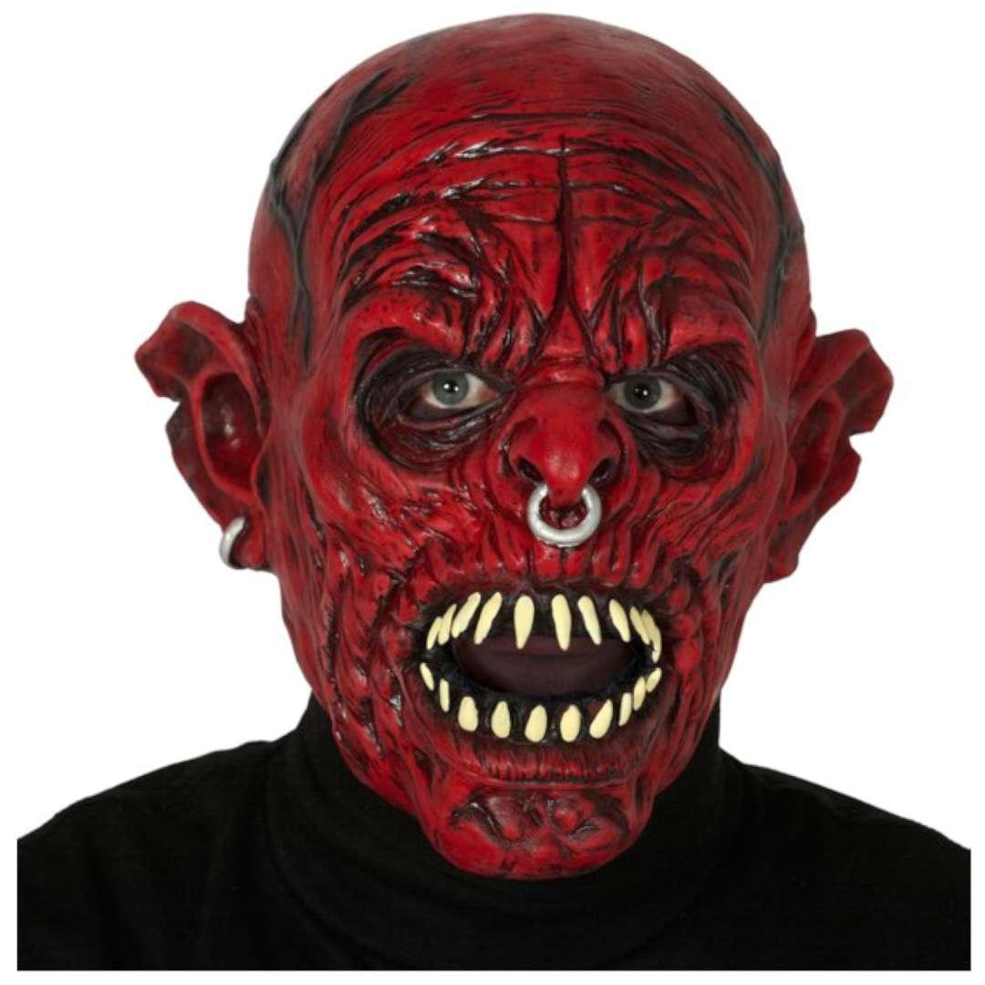 "Maska ""Potwór z zębiskami"", lateksowa, GUIRCA"
