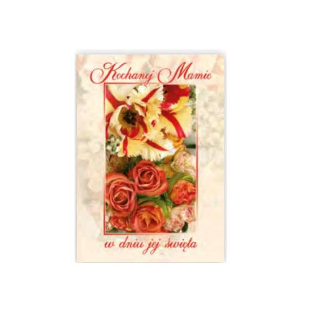 Kartka z pozytywką Dzień Matki - Kochanej Mamie Pol-Maki 14x20 cm